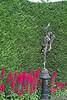 Mercury statue in Butchart Gardens