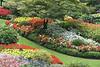 Butchart Gardens overview