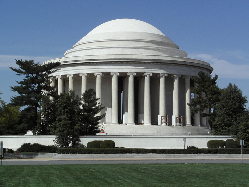 Jefferson Memorial, Washington DC - April 2005  - love to have your comments!