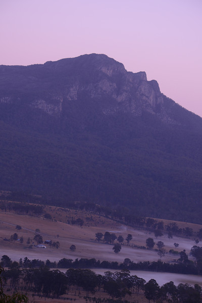 Mt. Maroon in the early morning.