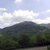 View of Chilhowee Mountain. This is one side of Walland Gap.