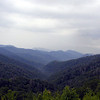 View from Newfound Gap Road<br /> GSMNP Aug. 2008
