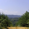 View from the top of Shingle Mountain toward Chilhowee Lake.<br /> Tallassee, TN Aug. 2008