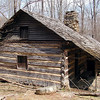 Smoky Mountain Hiking Club Cabin<br /> GSMNP TN 4/09
