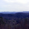 View from Foothills Parkway toward West Millers Cove Today.<br /> Blount County, TN 3/09
