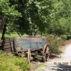 Old wagon along the walking path at The Lily Barn<br /> 6/22/09