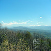 View toward the Smokies from Look Rock Tower. Mt. LeConte, Rich Mountain, and Thunderhead are visible here. <br /> Foothills Parkway, Blount County, TN 4/24/09