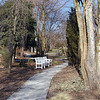 Walking Path at UT Gardens<br /> Knoxville, TN 3/09
