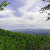 View from that rocky pine slope trail. Toward the mountains and Chilhowee