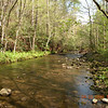 Sweet flowing Hesse Creek is a beautiful mountain trout stream.  It flows past the campsite and is wonderful to listen to.<br /> It is so relaxing.