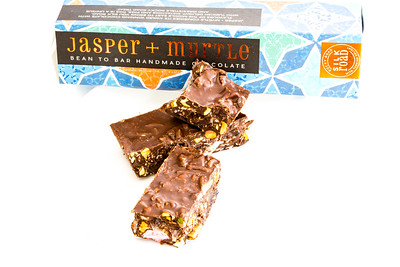 Jasper and Myrtle Rocky Road chocolate