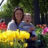 My Daughter And Grandson At The Arboretum