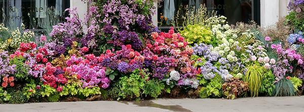 Chelsea flowered storefront