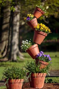 Balancing Pots
