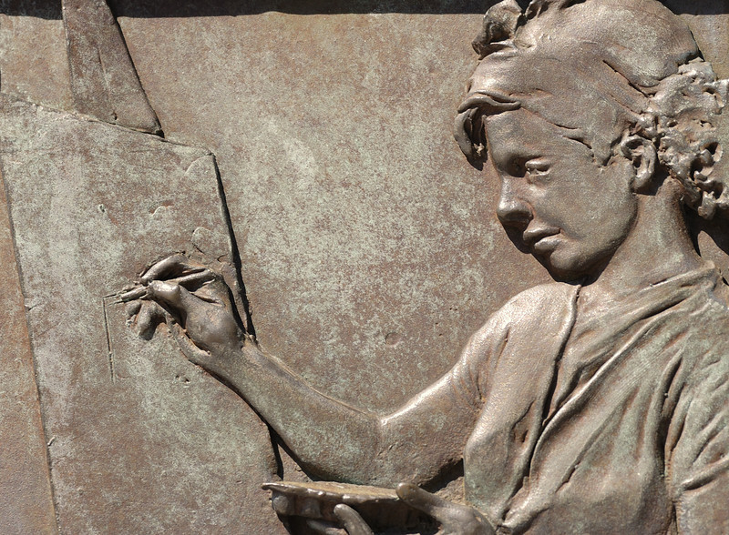 Wall Sculpture - FDR Monument, DC
