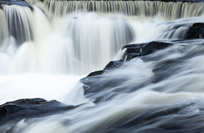 Upstream from Bond Falls, Michigan, 2013