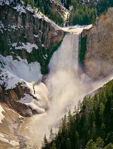 Yellowstone Falls, Wyoming