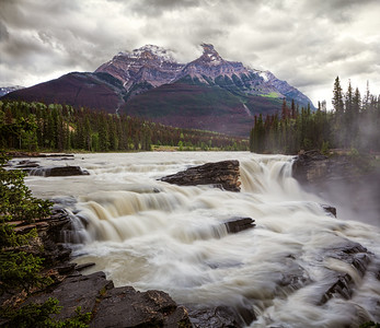 Athabasca Falls, Icefields Pkwy