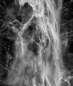 Bridalvale Falls 2, Yosemite