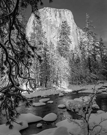 Merced River & El Capitan, Yosemite