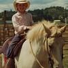 Nikkie riding Buttercup at the Fair.