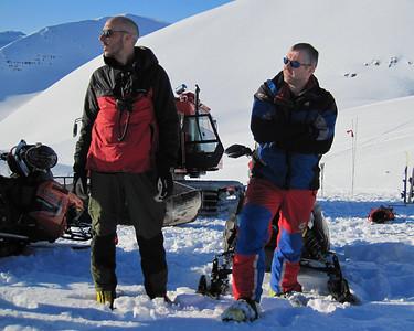 Lærimeistarar vorir Anton og Stefán Jökull.