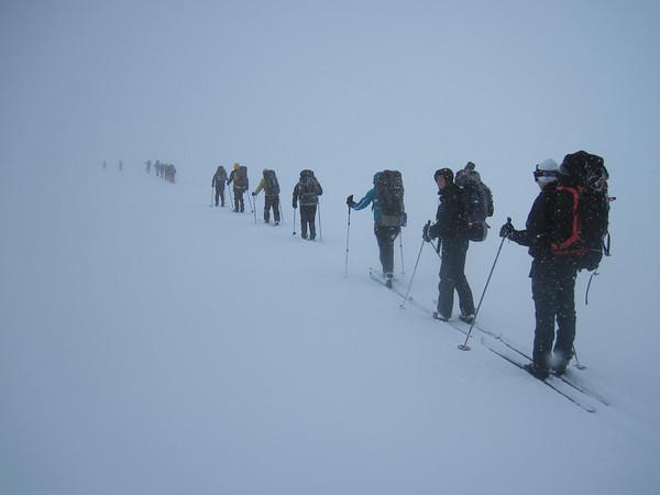 Gönguskíðaferð B1 - febrúar 2012