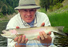 Boyces' son Mike on the Clark Fork.