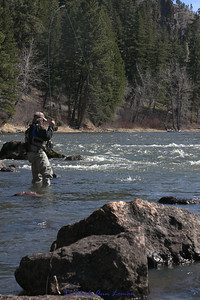 Roy in the Spring on the upper Bitterroot