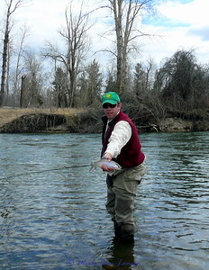 Jeff on the Bitterroot River.
