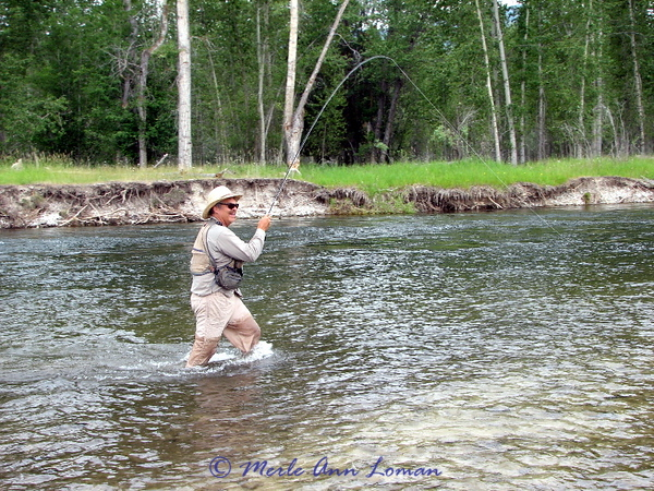 June 29 - Bitterroot, Jack Mauer, fish on the line