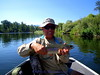 Sept 1 - Clark Fork River, Joe with another fat rainbow trout.