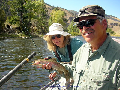 Sept 12 - Big Hole, Peggy Ratcheson with Jack Mauer