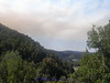 See the smoke, there was a very big forest fire to the north