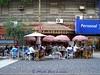 sidewalk cafe in Buenos Aires