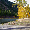 North Fork boat ramp behind the North Fork General Store.