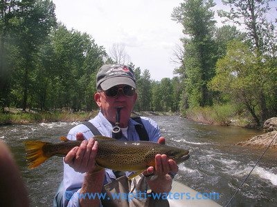 John Hickman - East Fork of the Bitterroot fishing with Terry June 2007