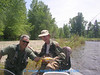 Terry Nobles and Jack Mauer - East Fork of the BItterroot June 2007