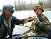 Terry caught this nice brown trout April 2009