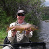 Jeff with a nice brown - June