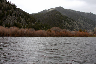 The Big Hole River east of Wisdom, MT