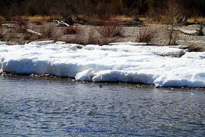 Taken from parking lot of Veteran's bridge just north of Hamilton, MT.