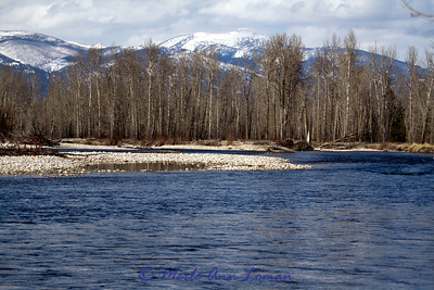 Taken from parking lot of Woodside crossing and bridge a few miles north of Hamilton, MT.