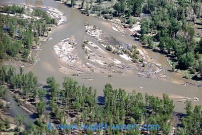 Lower river braiding