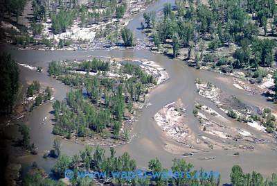 The river is very unstable between Woodside and Victor Bridge