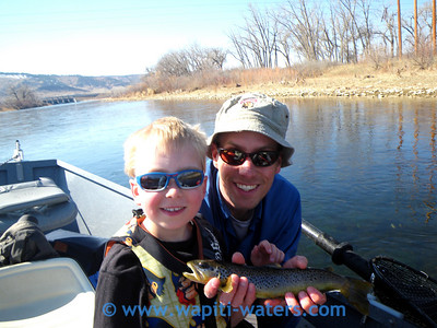 Tristen and Marshall - this is on the Big Horn