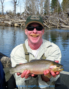 jeff and a closer view of the cutthroat trout