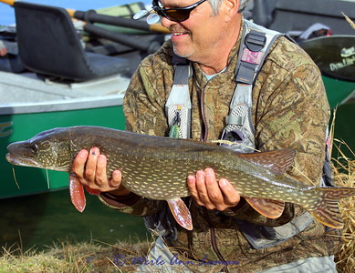 Jack and his 33 inch pike
