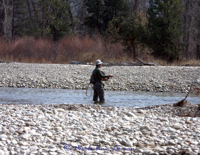 John Q. Public fishing and floating the same stretch of river.