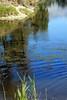 the edge of a backwater eddy - where pike like to lurk